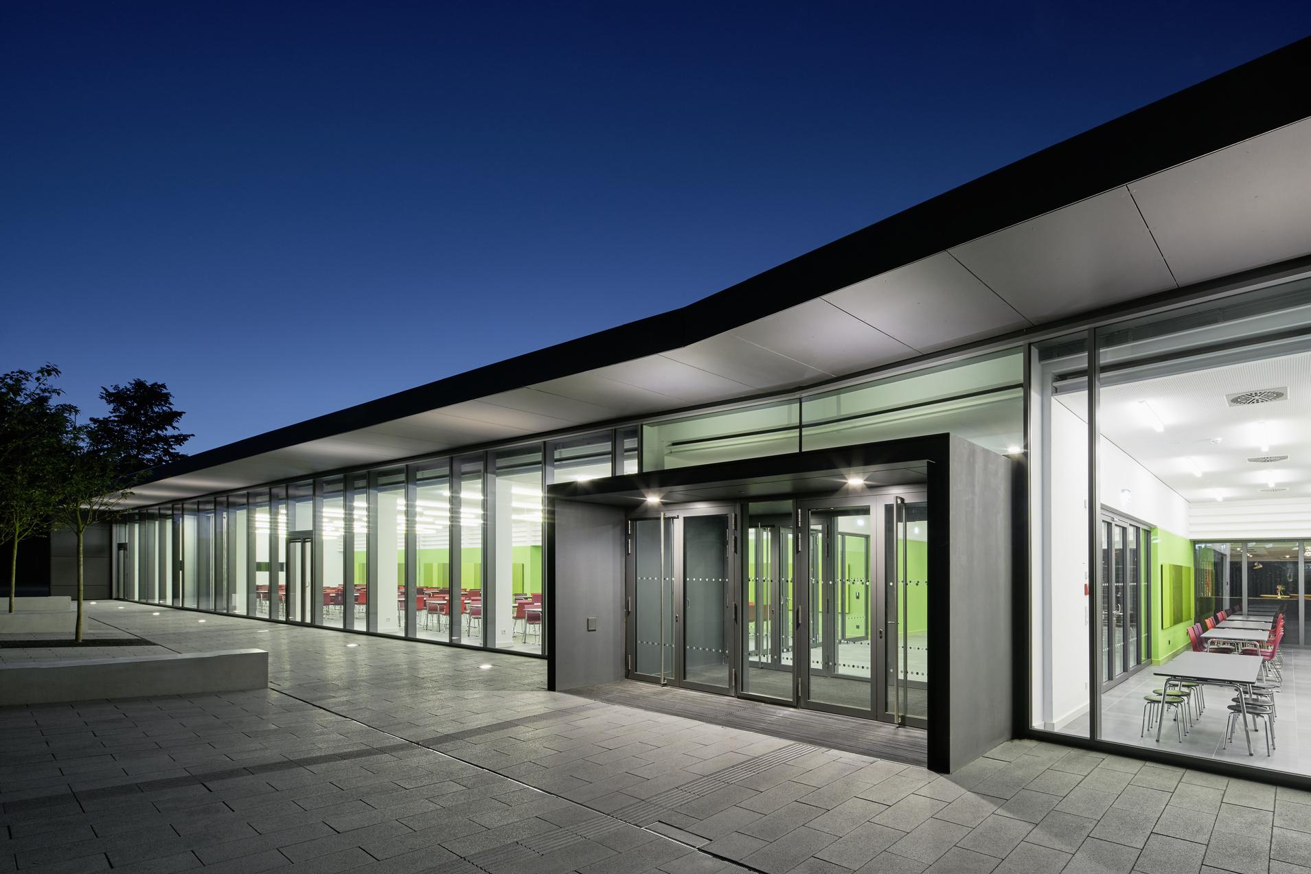 Eingang Mensa / Stadthalle